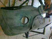 Ремонт бамперов,  капотов и пластиковых элементов кузова